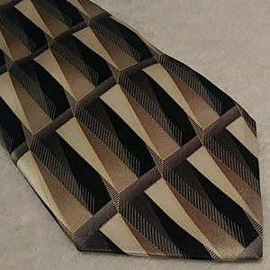 Arrow Men's Geometric Necktie